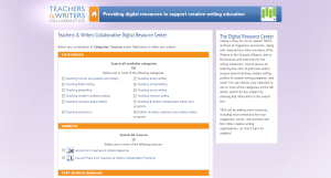 Teachers and Writers Collaborative Digital Resource Center